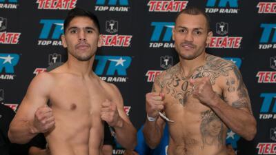 Mike Alvarado y Josh Torres listos para 'Solo Boxeo Tecate'