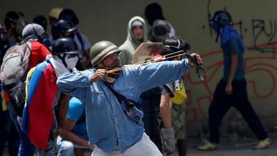 La violencia es protagonista del paro convocado por opositores venezolanos contra la Constituyente