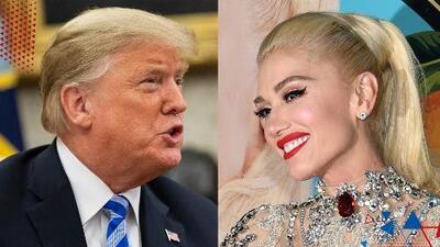 Acusan a Gwen Stefani de ser la responsable de que Trump sea presidente