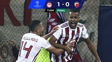 Olympiacos se impone en duelo directo por la Europa League
