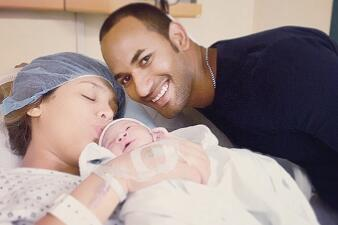 Así van los primeros días de vida del bebé de Zoila Ceballos