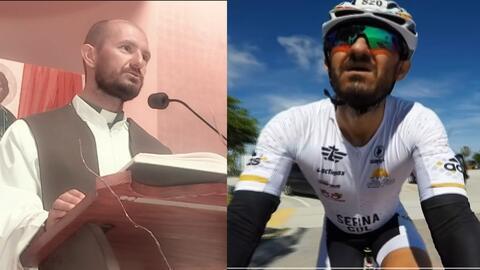 Sacerdote y destacado triatleta, Edison Serna demuestra que tiene voluntad de hierro