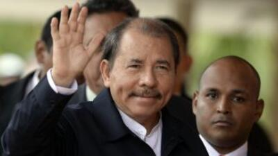 Presidente de Nicaragua Daniel Ortega felicitó al 'Chocolatito' González por tricampeonato