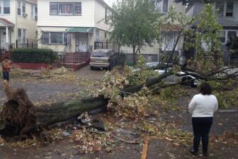 Daños de Sandy a través de 'Tu Cámara'