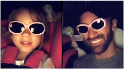 """""""¡Estoy chulísima!"""": la hija de Adamari López sigue haciendo de las suyas, esta vez con gafas"""