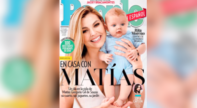 Matías ya es portada: la historia completa de las polémicas fotos del hijo de Julián Gil y Marjorie de Sousa