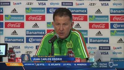 """Juan Carlos Osorio: """"Hirving o Jesús (Corona) exigen que otros levanten su nivel"""""""