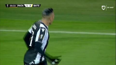 ¡GOOOL! Aleksandar Prijovic anota para PAOK Salonika