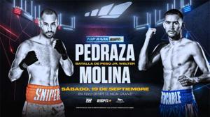 Javier Molina sin temor a José 'Sniper' Pedraza este sábado en Las Vegas