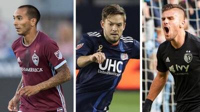 Transferencia a 3 bandas: Kelyn Rowe, Edgar Castillo y Diego Rubio cambian de equipo en MLS