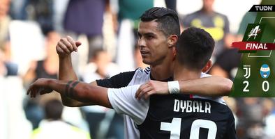 Juventus vence con gol de Cristiano Ronaldo