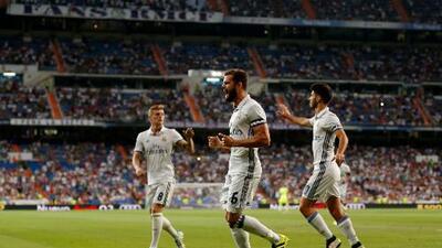 El Real Madrid se lleva el Trofeo Santiago Bernabéu aplastando 5-3 al Stade de Reims
