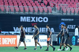 Así fue el reconocimiento de cancha del Merecedes-Benz Stadium por parte del Tricolor