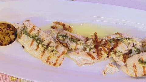 Tilapia a la plancha, un pescado con pocos ingredientes pero mucho sabor