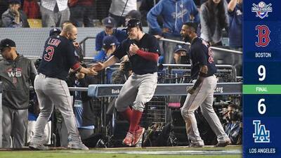 Espectacular remontada de Red Sox y ponen en jaque a los Dodgers