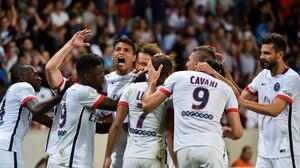 Lucas Moura pone en órbita al París Saint-Germain con doblete ante el Guingamp