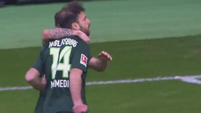 Wolfsburgo dio la sorpresa y venció 0-3 al Borussia Mönchengladbach