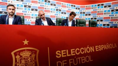 Los protagonistas en el día más triste de la selección española