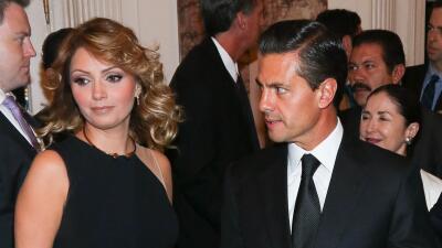 El divorcio y otros momentos incómodos que vivieron Angélica Rivera y Enrique Peña Nieto