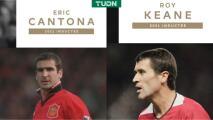 Hall fo Fame de la Premier induce a Eric Cantona y Roy Keane