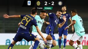 ¡Se les escapa el título! Inter de Milán cae al cuarto lugar de la Serie A