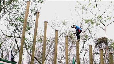Guerrero Latino: los participantes tendrán que demostrar su equilibrio para no 'caer' al vacío