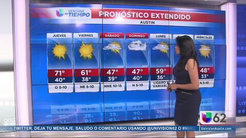 Cielos soleados, el pronóstico para este jueves en Austin