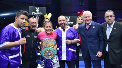 Yéssica 'Kika' Chávez retuvo título ante Simona Galassi