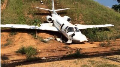 Integrantes de Los Cadillac's sufren accidente aéreo