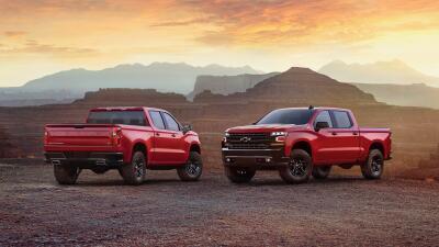 La totalmente nueva Chevrolet Silverado 2019 en imágenes