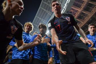 Así fue el festejo del gol de Croacia a través de la cámara del fotógrafo salvadoreño