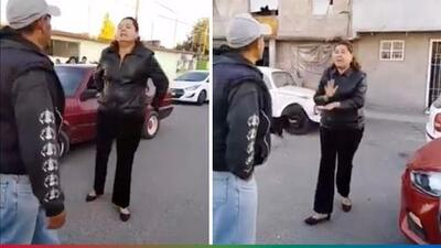 """(Video) """"Te voy a romper tu madre"""": Mujer se pone al 'tú por tú' con un hombre"""