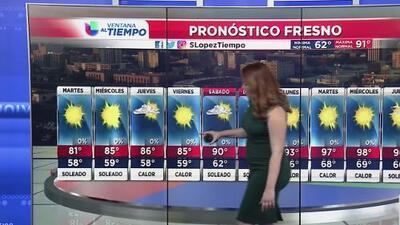 Fresno tendrá un martes libre de precipitaciones