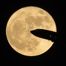 En fotos: Así se vio la superluna en distintas partes del mundo