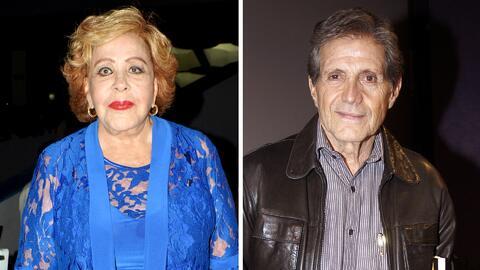 Héctor Bonilla se desvive en halagos por trabajar con Silvia Pinal en 'Mi marido tiene Familia'