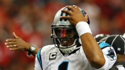 El estelar QB de los Panthers, Cam Newton, no estuvo en las prácticas