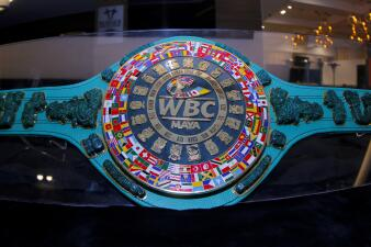 Espectacular: detalles del cinturón maya en la pelea de 'Canelo' contra Daniel Jacobs