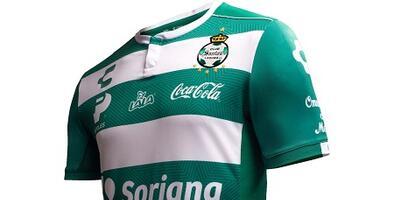 Camiseta Oficial de Santos Laguna de la Liga MX