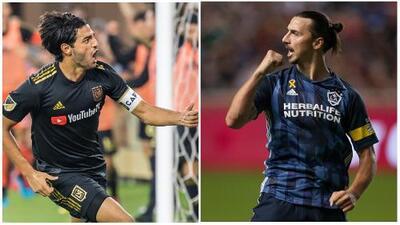 Así va la lucha entre Carlos Vela y Zlatan Ibrahimovic por el récord de Josef Martínez