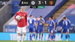 Leicester venció al United y se metió a Semifinales de la FA Cup