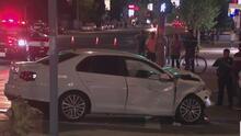 Peatón provoca choque vehicular en cadena que deja al menos 10 personas heridas en Van Nuys