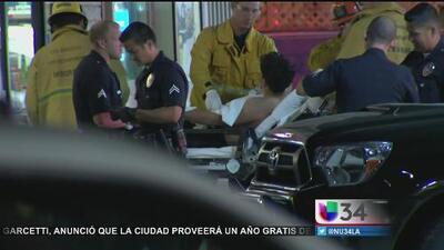 Tres heridos por una balacera en una gasolinera del sur de Los Angeles