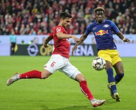 En fotos: Mainz y Leipzig abren la jornada 32 de la Bundesliga con un vibrante 3-3