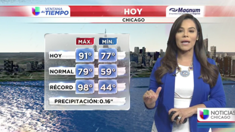 Ventana al Tiempo: Lluvias en horas de la mañana este jueves en Chicago