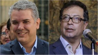 Iván Duque y Gustavo Petro, los 'ganadores' de unas elecciones en las que salió derrotada la FARC