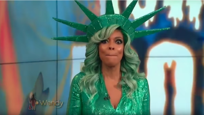 Wendy Williams faints while filming Halloween show