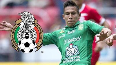 José Iván Rodríguez se dijo sorprendido por su primer llamado a la selección de México