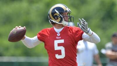 Los St. Louis Rams quieren firmar a Nick Foles con una extensión a largo plazo