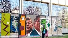 30 años de la caída del Muro de Berlín: ¿qué lugares de EEUU conservan pedazos de la histórica barrera?