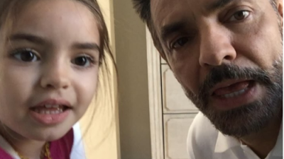 Eugenio Derbez y su hija Aitana cantan 'All you need is love'